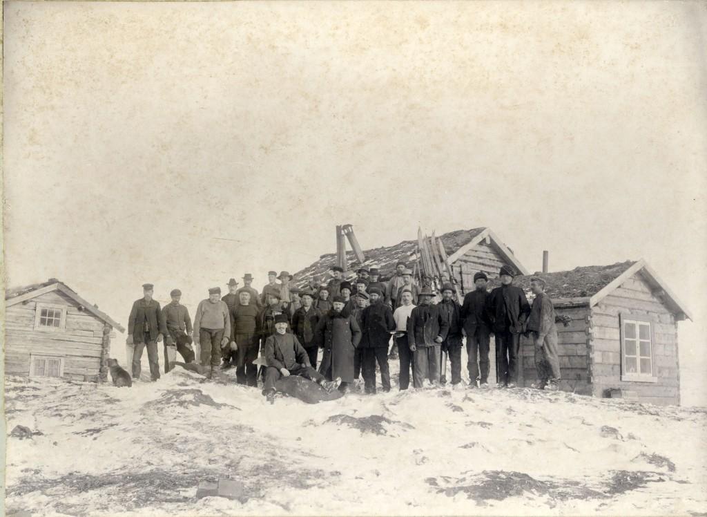 Fotograf: J. H. Wennberg, Tromsø. Statsarkivet i Tromsø