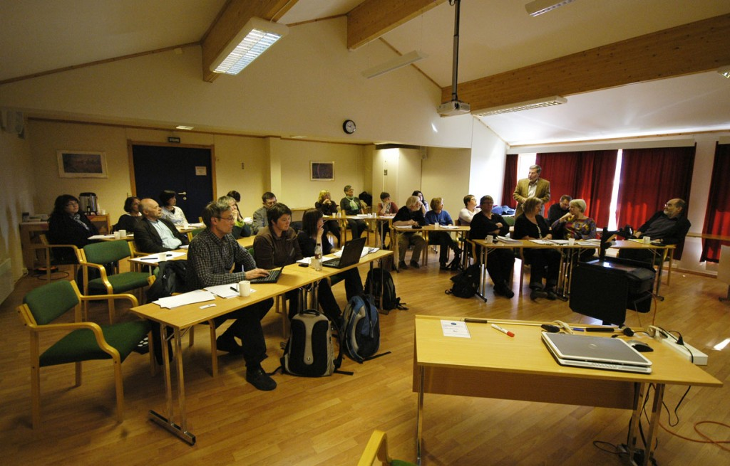 Møte i Lakselv 2010. Foto: Sonja Siltala