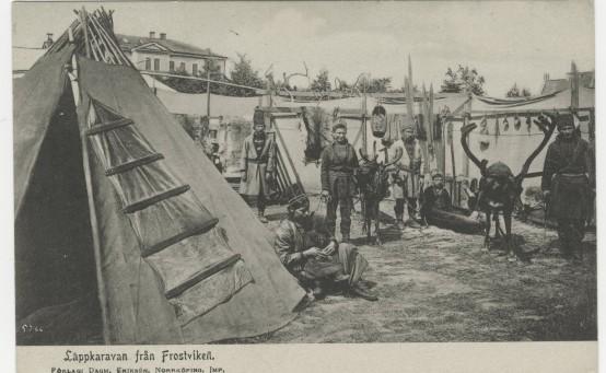 Bildet fra Riksarkivets utstilling.