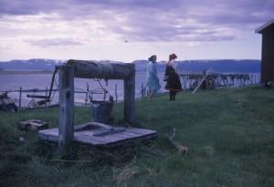 Foto: Toralv Pedersen. Bildet er tatt på 1970-tallet. Arkiv: Finnmark fylkesbibliotek